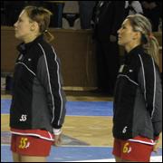 Melinda Geiger si Camelia Balint-Trofeul Carpati 2008